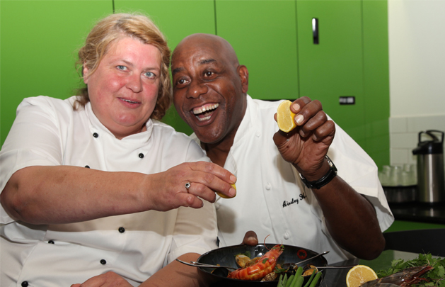 Ainsley Harriott Inspires Our Chefs At Claremont